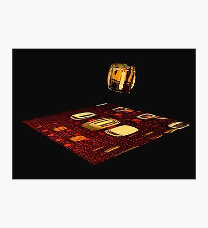 Cube landing Photographic Print