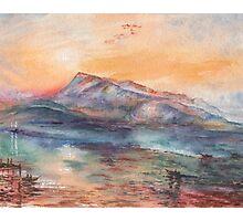 Mount Rigi Switzerland Landscape Photographic Print