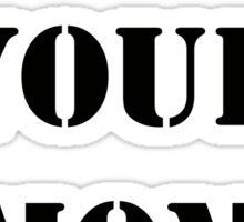 Dear, Sigmund Freud: YOUR MOM. Sticker