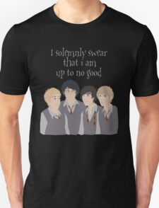 I Solumnly Swear That I am Up to No Good T-Shirt