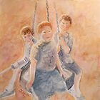 The Three Just a Swinging by Jeanne Allgood