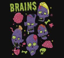 Brains Kids Tee