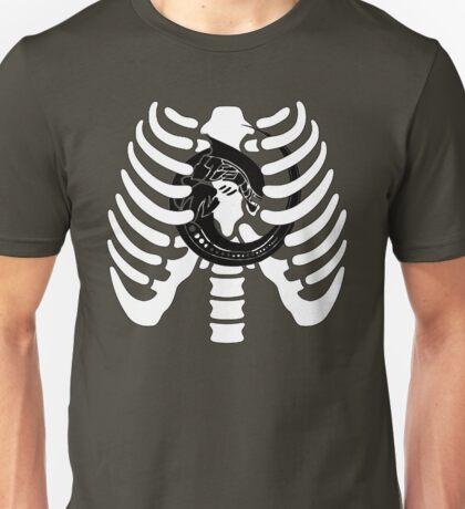 Alien Chest Burster Rib Cage Design Unisex T-Shirt