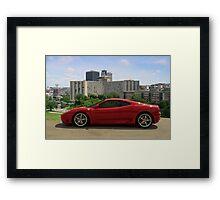 2004 Ferrari 360 Modena - Crown Center Complex - Kansas City, Missouri Framed Print