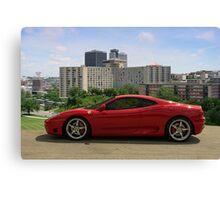 2004 Ferrari 360 Modena - Crown Center Complex - Kansas City, Missouri Canvas Print