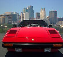 1982 Ferrari 308 GTSi - Kansas City Skyline by TeeMack