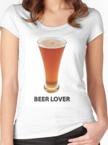 Beer Lover Women's Fitted Scoop T-Shirt