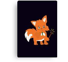 Magical Fox Canvas Print