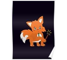 Magical Fox Poster