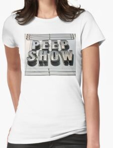 Peep Show Womens Fitted T-Shirt