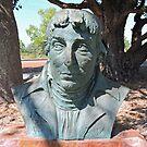 Nicholas Baudin, Sculpture, Broome, Western Australia by Margaret  Hyde