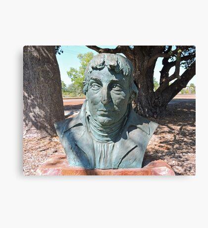 Nicholas Baudin, Sculpture, Broome, Western Australia Canvas Print