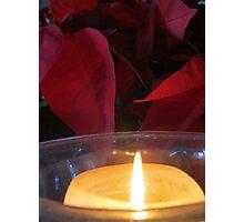 Christmas - Hanukkah - Kwanzaa - light in the world Photographic Print