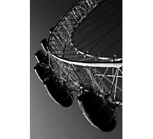 London Eye Black And White Photographic Print
