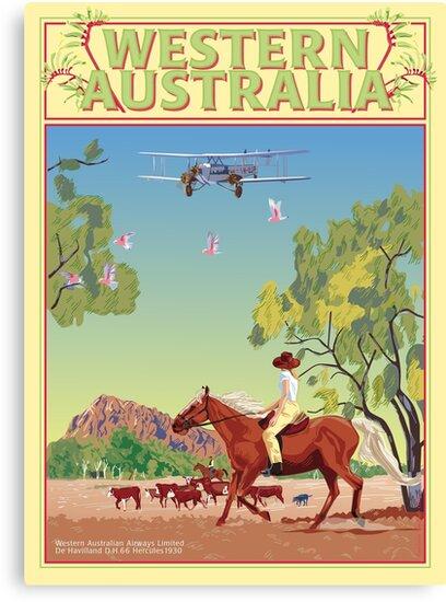 Art Deco Western Australia  by contourcreative