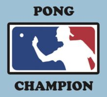 Beer Pong Champ by Andis-Store