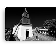 Church of Holoko Village - Hungary Canvas Print