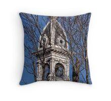 Courthouse tower Throw Pillow