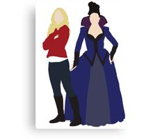 Swan Queen - Once Upon a Time Canvas Print