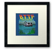 BTTFish Framed Print