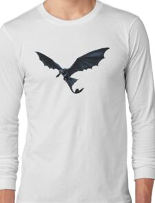 How To Train Your Dragon Toothless Design Long Sleeve T-Shirt