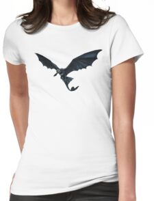How To Train Your Dragon Toothless Design Womens Fitted T-Shirt