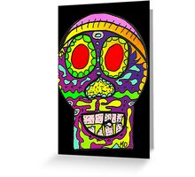 Dia de los Muertos , Day of the Dead - Sugar Skull d Greeting Card