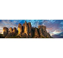 Meteora Mountain Monateries, Greece Photographic Print