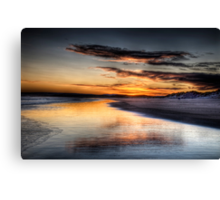 Lossie Sunrise Canvas Print