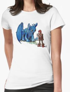 How To Train Your Dragon 'Toothless'  By EmegE  Womens Fitted T-Shirt