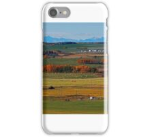 Back Roads Alberta iPhone Case/Skin