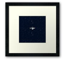 Star trek Star ship NCC-1701 enterprise Framed Print