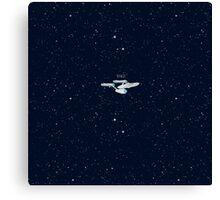 Star trek Star ship NCC-1701 enterprise Canvas Print