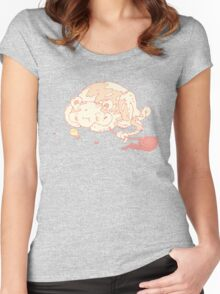 Candy game Women's Fitted Scoop T-Shirt