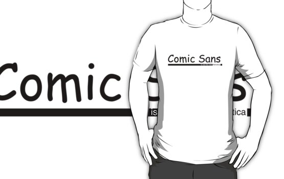 Comic Sans... is not the new Helvetica by iClock