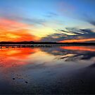 Sunset @ Long Jetty, Tuggerah Lake by Arfan Habib
