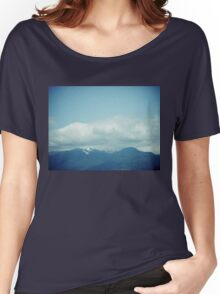 Clouds & Mountains Women's Relaxed Fit T-Shirt