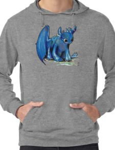 How To Train Your Dragon 'Toothless' by EmegE (Edited) Lightweight Hoodie