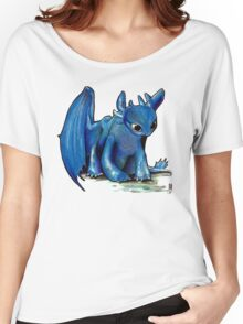 How To Train Your Dragon 'Toothless' by EmegE (Edited) Women's Relaxed Fit T-Shirt