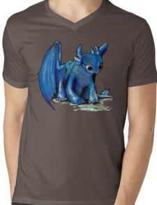 How To Train Your Dragon 'Toothless' by EmegE (Edited) Mens V-Neck T-Shirt