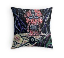 Orgloxx-The Defiler of Thoughts Throw Pillow
