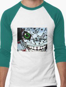 Neon Genesis Evangelion - Bandaged EVA Unit 01 Men's Baseball ¾ T-Shirt