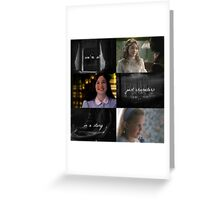 Once Upon a Time: We're all Just Characters in a Story Greeting Card