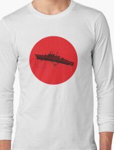 Neon Genesis Evangelion - EVA Unit 02 (Boat Lift) Long Sleeve T-Shirt