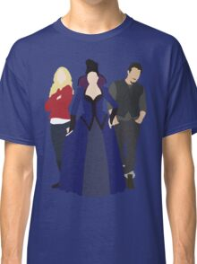 Emma, Regina, and Neal - Once Upon a Time Classic T-Shirt