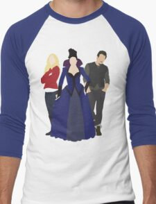 Emma, Regina, and Neal - Once Upon a Time Men's Baseball ¾ T-Shirt