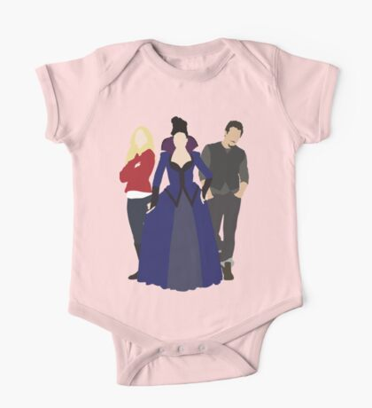 Emma, Regina, and Neal - Once Upon a Time One Piece - Short Sleeve
