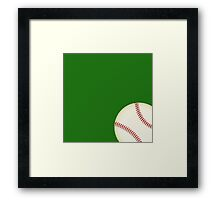 Let's Play Ball Framed Print