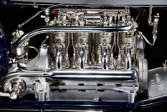 Long wheelbase Henderson Engine by Frank Kletschkus