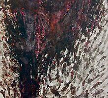 """""""Dämon Kind im Holz"""" by Christa Quinn"""